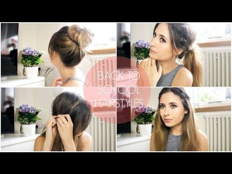 122 Easy Tumblr Back To Scol Hairstyles | MeMyMouse12 - YouTube