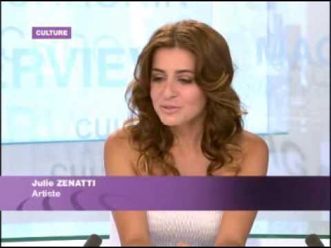Julie Zenatti dans la Culture de France 24