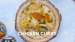 #Shorts: Nagaland Chicken Curry | Indian Food Recipes | Learn to Make Easy Meals | चिकन करी