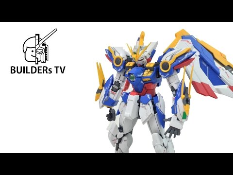 RG WING GUNDAM EW Gunpla Fast Build Up (RG 윙 건담 EW, RG ガンダムW ウイングガンダム EW 1/144)