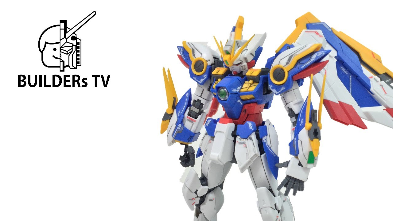 The Most Beautiful Gundam – RG WING GUNDAM EW Speed Build Review