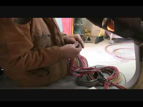 HOW TO INSTALL A WIRING HARNESS In An Old Car Or Truck-Part 1 - YouTube