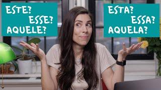 Baixar BASIC PORTUGUESE   Demonstrative Pronouns