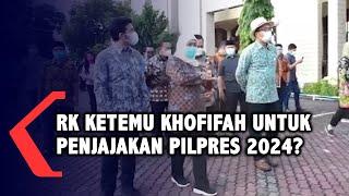 Ridwan Kamil Ketemu Khofifah di Surabaya, Hingga Diisukan Penjajakan Pilpres 2024