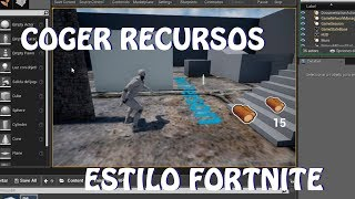 Unreal Engine 4: Get FORTNITE-style Resources (Spanish)