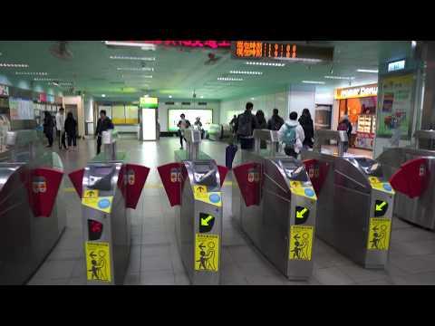 Taiwan, Taipei, MRT ride from LIUZHANGLI to Technology Building