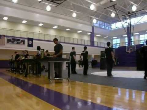 Patrick Henry High School Winter Drum Line Home Show 2012