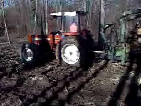Fiat 80 66 E Carro Forestale Terrmacch In Difficolta Youtube