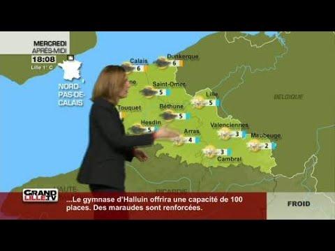 Les Prévisions Météo du 7 Février 2018 (Lille)