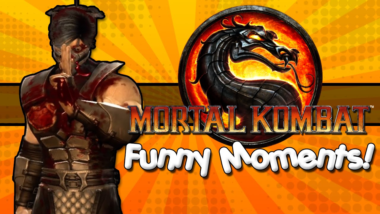 Mortal Kombat Funny Moments! Crazy Combos, Creepy Eyeballs