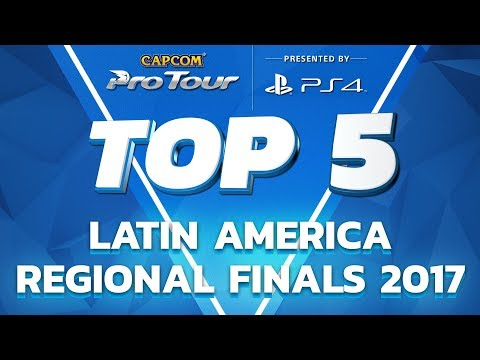 SFV: TOP 5 MOMENTS - LATIN AMERICA REGIONAL FINALS - CPT 2017