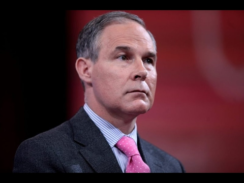 Chronic Polluters Funded Trump's EPA Pick Scott Pruit