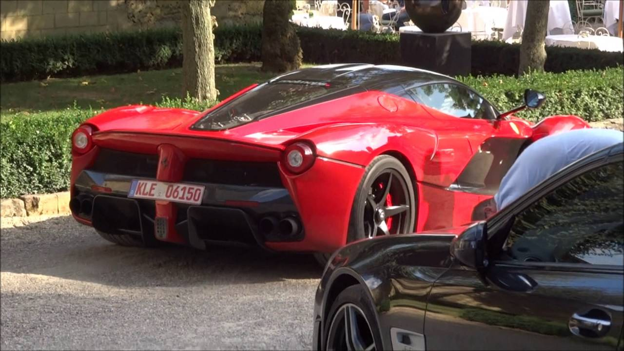 Ferrari Laferrari Exhaust Sound