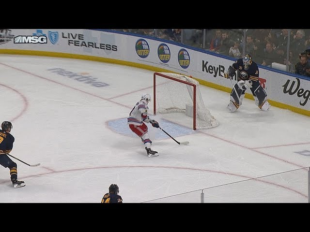 New York Rangers light the lamp twice in 8 seconds