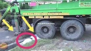 How to take out Rear 8 wheel's struck & spinning with out traction, Mahindra blazo truck