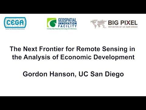 Geo4Dev Conference 2017: Gordon Hanson, UC San Diego