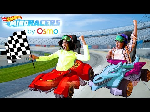 Thumbnail: OSMO HOT WHEELS™ MINDRACERS vs Shiloh And Shasha - Onyx Kids