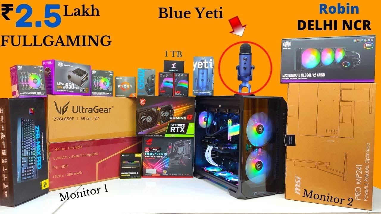 Rs 2.5 Lakh Full Gaming PC   2.5 Lakh Gaming PC   Robin Delhi NCR   Mr Pc Wale