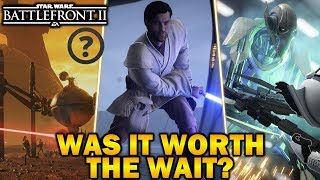WAS THE CLONE WARS DLC WORTH THE WAIT? Star Wars Battlefront 2