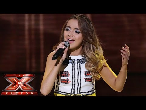 Thumbnail: Lauren Platt sings One Direction's Story Of My Life | Live Semi-Final | The X Factor UK 2014