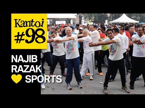 "Najib Razak ""Malaysia ❤ ❤ ❤ sports"""