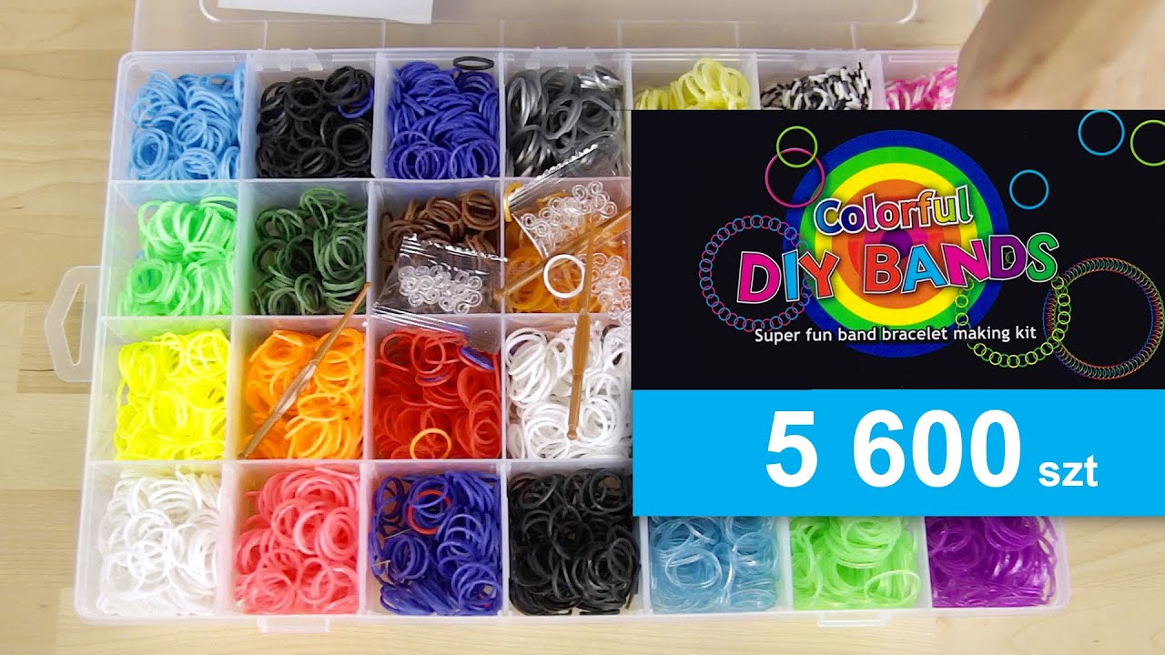 loom watch bracelets bands rainbow review colorful youtube many bracelet