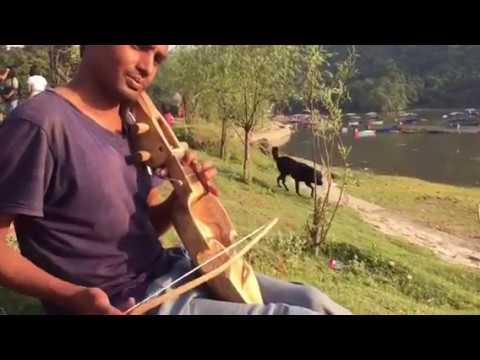 Music from the Himalayas [ Resham Firiri ]Nepali sarangi tuning by Ram Chondra