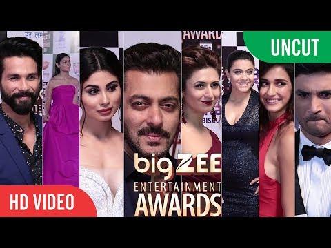 UNCUT - Big Zee Entertainment Awards 2017 | Salman Khan, Alia Bhatt, Shahid Kapoor | #BigZeeAwards