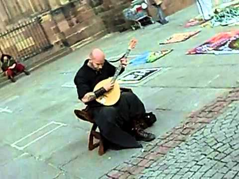 Monk Sings Ancient Song In The Streets Of France- You won't believe it until you see it