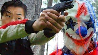 Creepy Clown Attack - 21 Foot Rule