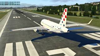 X Plane 11 Test Toliss A319 version 1.1 Moteurs IAE