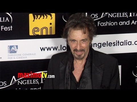 Al Pacino 8th Annual Los Angeles, Italia Film, Fashion and Art Festival Red Carpet