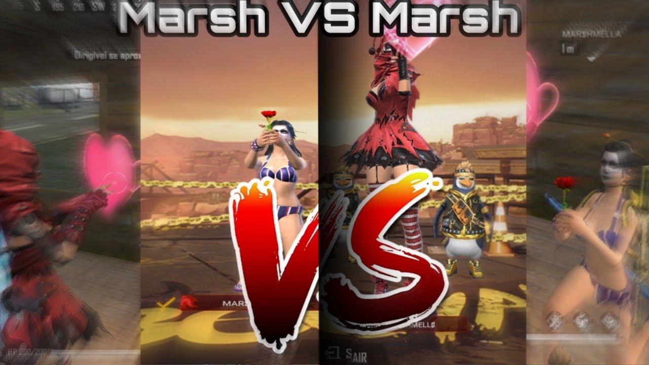 X1 de M500- Marsh VS Marsh ???? FREE FIRE