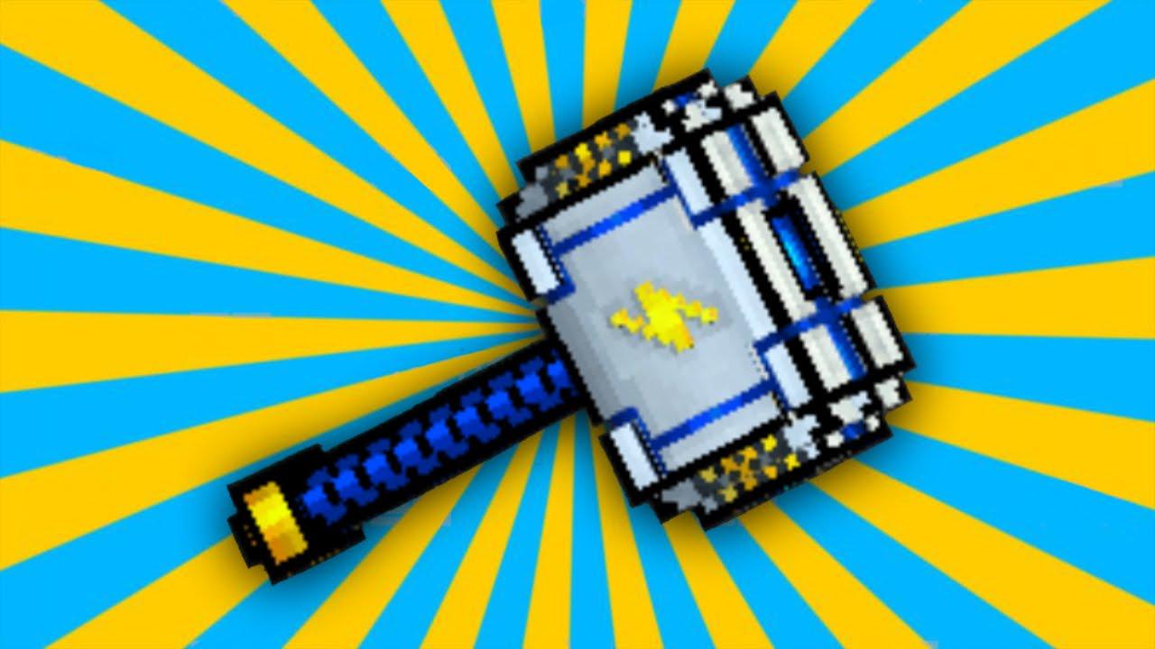 pixel gun 3d storm hammer review youtube