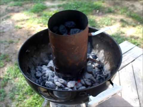 How I Prepare Coals in my BBQ
