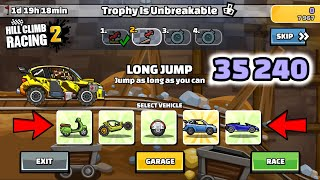 Hill Climb Racing 2 - 35240 points in TROPHY IS UNBREAKABLE Team Event screenshot 3