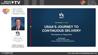 Delivery of Things World USA 2018: USAA