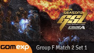 Code A Group F Match 2 Set 1, 2014 GSL Season 2