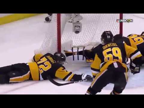 Fleury's Incredible Save Keeps Penguins Alive | 2017 Game 3