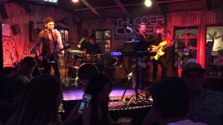 "Thunder Cover band introduction + ""Ain't No Rest for the Wicked"" (Cage the Elephant cover)"