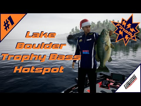 Fishing Sim World: Pro Tour | Lake Boulder Trophy Bass Hotspot | Arrowhead Point