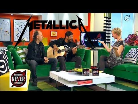 Metallica Lars Ulrich und Robert Trujillo...