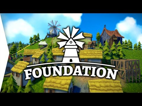 Foundation ► Upcoming Medieval Gridless City-building Gameplay! - [Gamer Encounters]