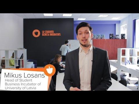 University of Latvia Student Business Incubator Trailer ENG