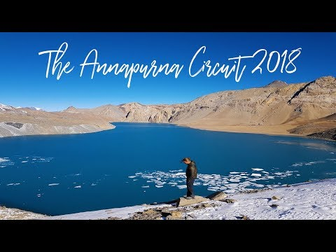 THE ANNAPURNA CIRCUIT 2018 - A breathtaking journey from below and above
