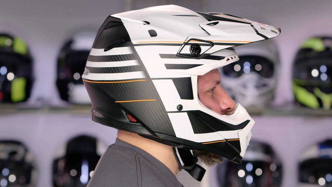 Bell Motorcycle Helmet >> Bell Moto 9 Flex Helmet Review at RevZilla.com - YouTube