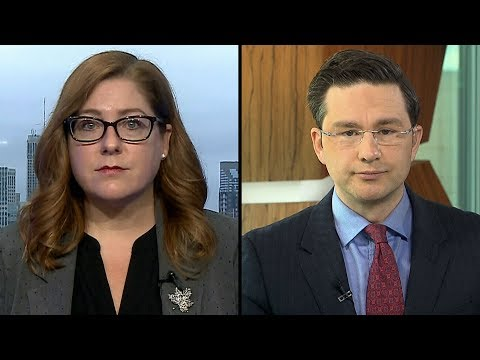 'Call out your colleagues': Ramsey, Poilievre debate over political rhetoric