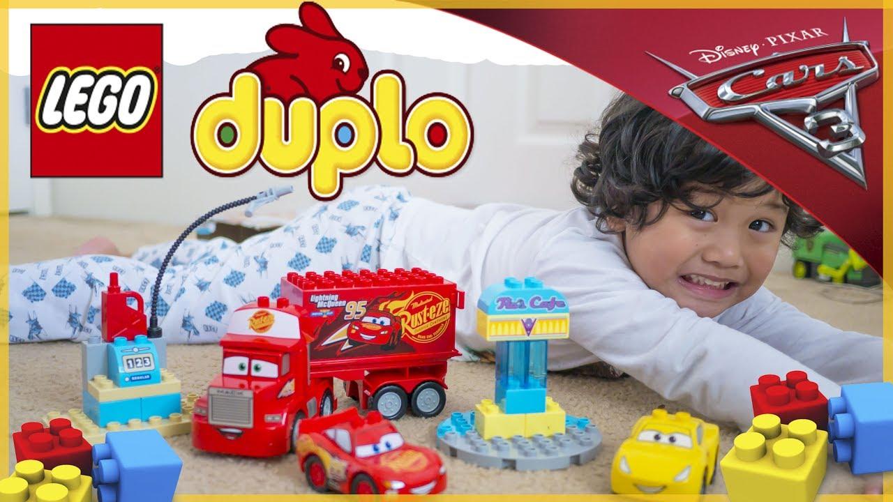 Cars 3 Lego Duplo Flos V8 Cafe Lightning Mcqueen Cruz Ramirez
