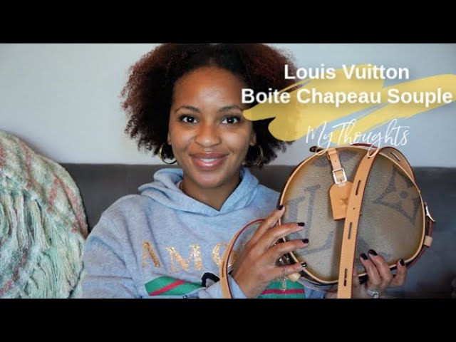 Initial Thoughts on LV Boîte Chapeau Souple | 12 Days of Vlogmas #8