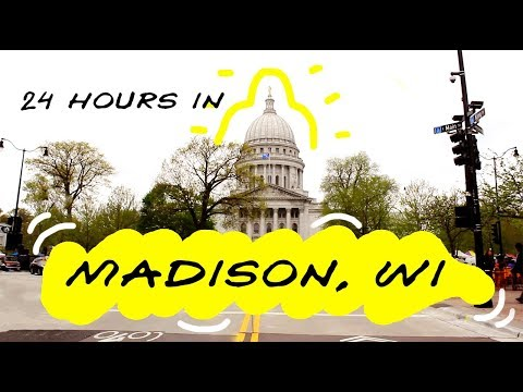 Travel With Me ✈ 24 Hours In Madison, WI